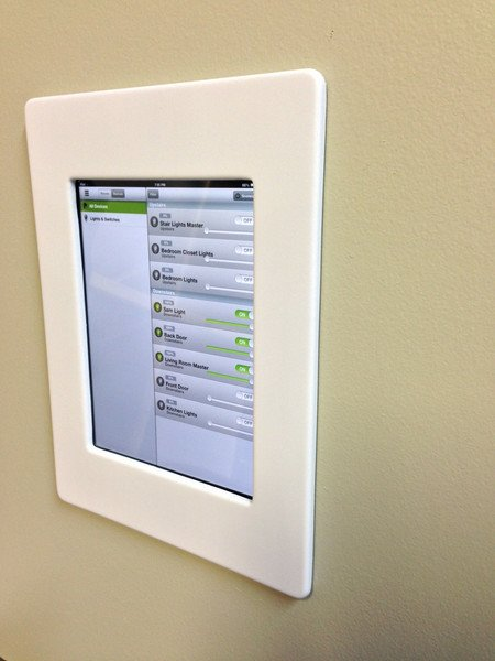 ipad mini wall mount white tektam integrations inc